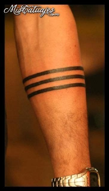 three lines tattoo meaning 30 beautiful band tattoos