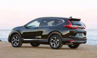 Honda Price Honda Prices Retooled 2017 Cr V From 24 925