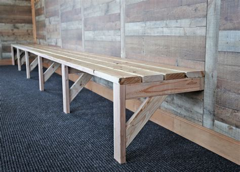 easy mudroom benches  locker room benches ana white
