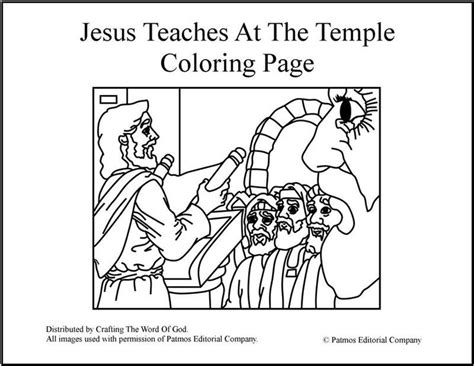 bible map coloring page jesus teaches at the temple coloring page coloring and