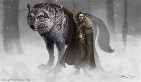 Stark Direwolf by The Direwolves Of House Stark An Analysis What Oh Hell