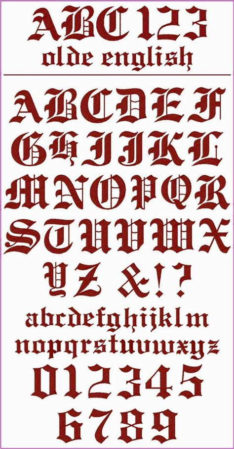 tattoo font classic olde english font this is a classic font with a