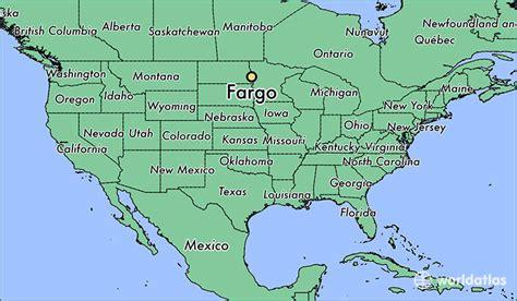 map of fargo nd where is fargo nd fargo dakota map worldatlas