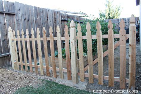 how to build a backyard fence build an easy diy garden fence no 2 pencil