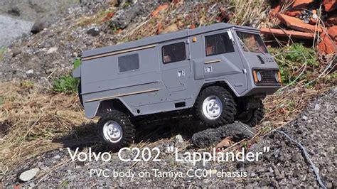 rc volvo rc volvo c202 laplander tamiya cc01
