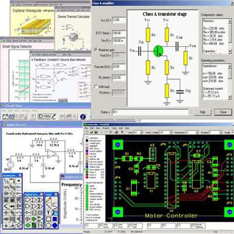 electronic circuits software pic pcb electrical cad