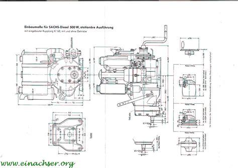 Sachs Motor 600 L by Moteur Sachs Diesel 600