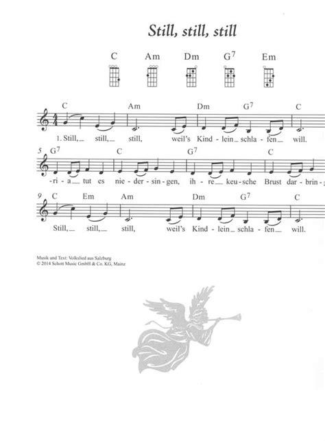 lied hoch auf dem gelben wagen text das weihnachtsliederbuch f 252 r alt und jung ukulele noten