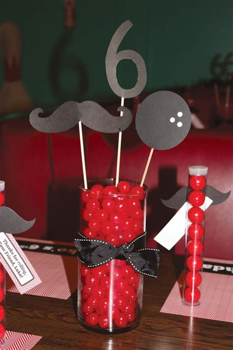Party Centerpiece Ideas Party Favors Ideas Mustache Centerpieces
