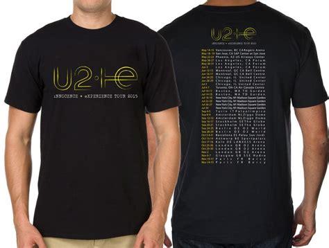 T Shirt Bobotoh 2 t shirt 2015 world tour u2 innocence and experience mens tees shirt 100 cotton tshirt