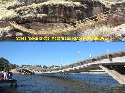 vignana shapes stress ribbon bridge