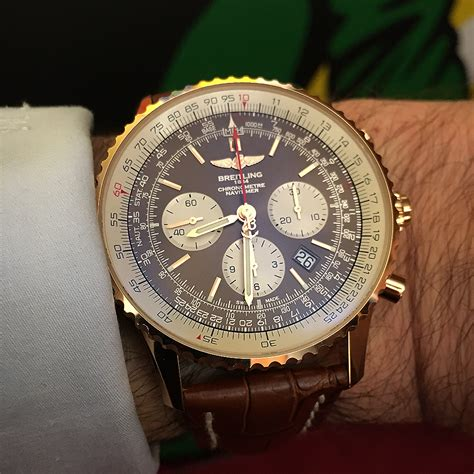 Breitling Navitimer Rattrapante Takes Flight (Updated with Live Photos) ? WatchTime   USA's No.1