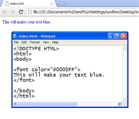 html code for font color html codes for text color