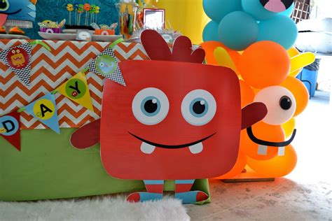 Decorate A Onesie Partylicious Events Pr Little Monster Birthday Bash