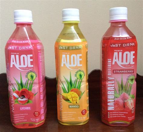 Would You Drink This Aloe Juice by Review What Is Just Drink Aloe Like Hodgepodgedays