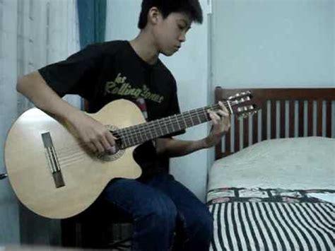 cara bermain gitar tinggal kenangan belajar petikan gitar lagu bunda melly goeslow