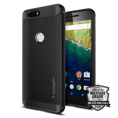 Spigen Rugged Armor Nexus 6p Black spigen 174 rugged armor sgp11797 nexus 6p black