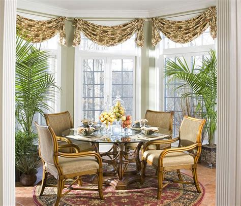 Dining Room Drapery Ideas by 20 Dining Room Window Treatment Ideas House Decorators