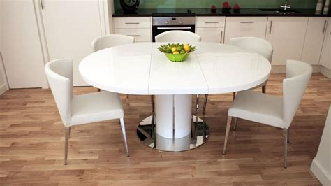 white dining room table extendable 20 ideas of white extendable dining tables dining