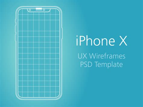 iphone website layout template free ux templates for user experience designers