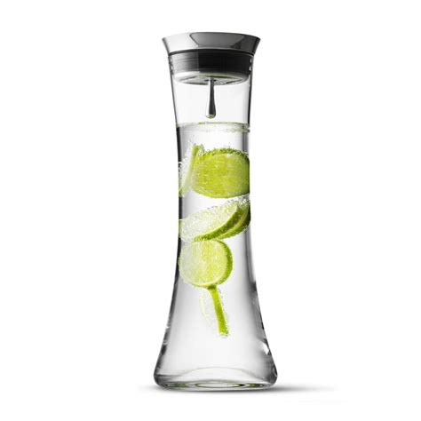 Menu Wasserkaraffe 1 3l by Wasserkaraffe Mit Edelstahldeckel Menu Connox