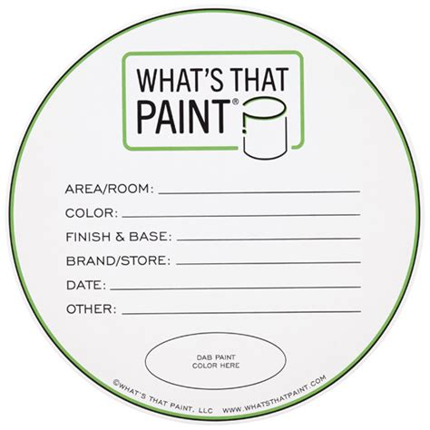 Paint Can Labels Gallon Set Of 5 In Garage Accessories Paint Can Label Template