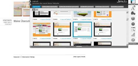 layout jimdo html layout und style