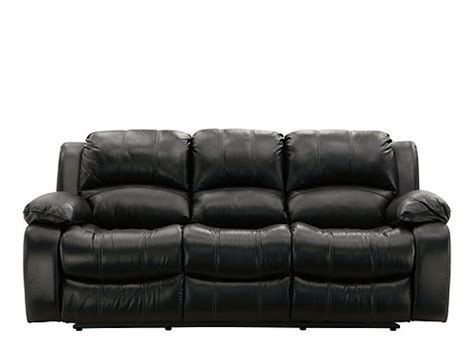 bryant ii leather sofa bryant ii leather reclining sofa sofas raymour and