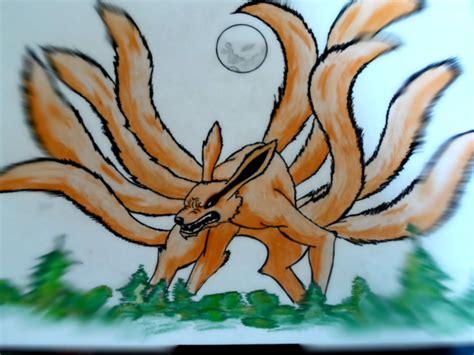 imagenes de naruto el zorro de 9 colas de pequeo imagenes tiernas kyubi zorro de las 9 colas por francogil1997 dibujando