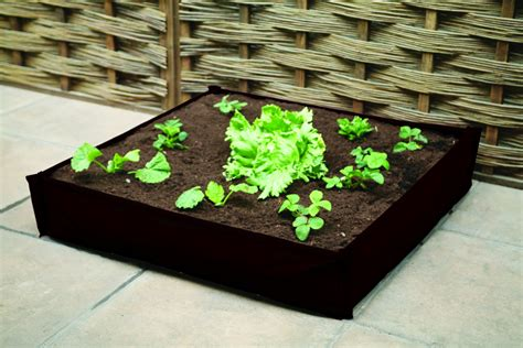 Patio Planters Uk by Haxnicks Instant Raised Bed Patio Planter 163 19 5