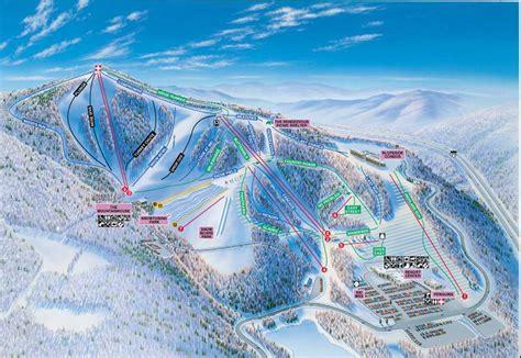 Winterplace Cabins by Winterplace Ski Resort Trail Map