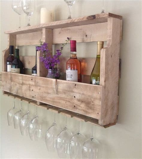 Wooden Pallet Wine Rack by Wood Pallet Wine Rack Projects