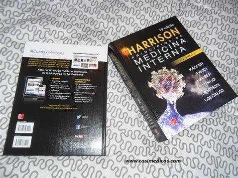 medicina interna harrison rese 241 a 19 170 edici 243 n harrison principios de medicina