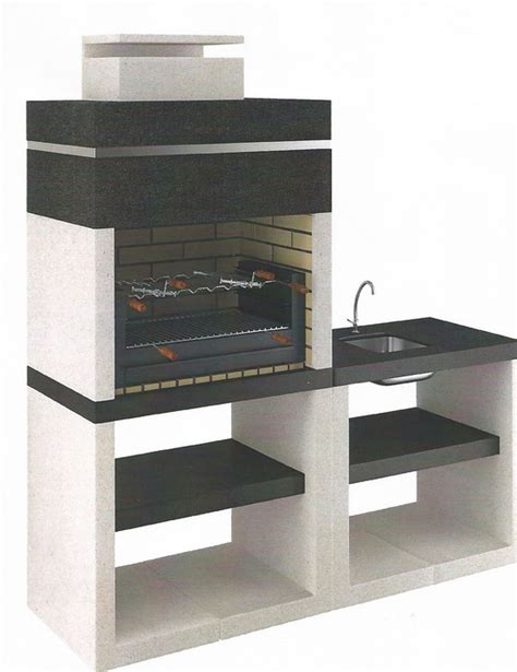 Barbecue Moderno Design by Pierres Et Decor Barbecues