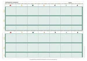 printable fortnightly amp weekly planner to keep on track