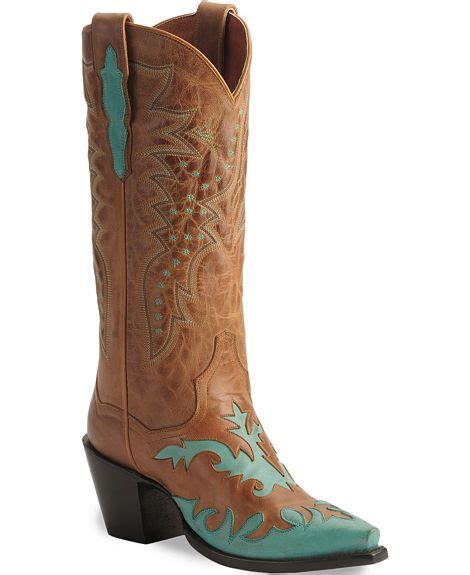 Turquoise Rios Of Mercedes Cowboy Boots Horses Amp Heels dan post boots turquoise amp brown