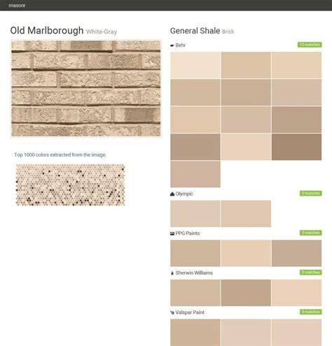 behr paint color new brick marlborough white gray brick general shale behr