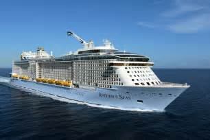 royal caribbeans newest ship official royal caribbean cruise schedule for 2017 2018