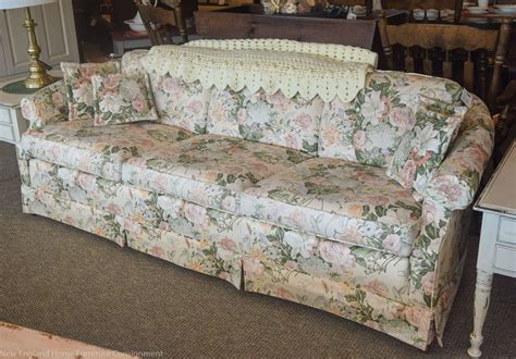 ethan allen floral couches ethan allen floral sofa new home furniture
