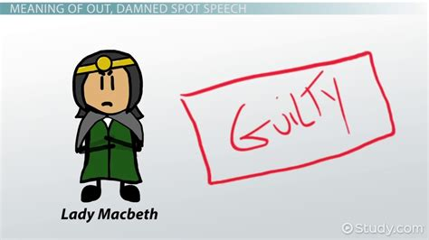 one of the themes of macbeth centers on evil quizlet out damned spot meaning overview video lesson