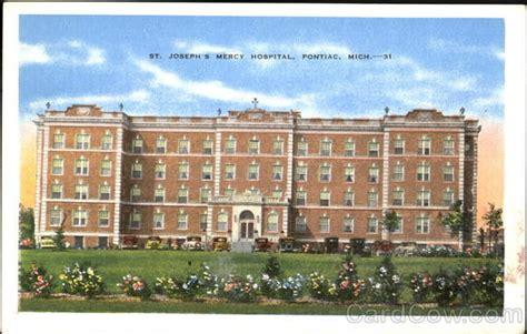 pontiac michigan hospitals st joseph s mercy hospital pontiac mi