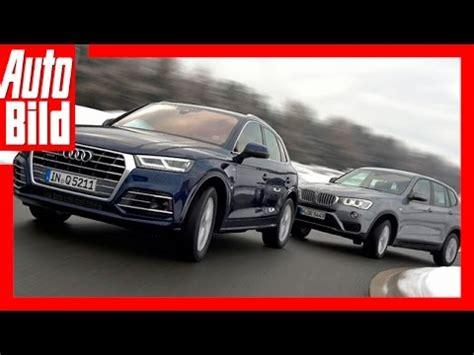 Vergleich Audi Q5 Bmw X3 by Vergleich Audi Q5 Vs Bmw X3 2017 Der Q5 Im