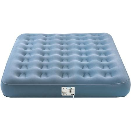 aerobed single high airbed with built in walmart