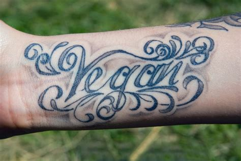 vegan tattoo a guide on how and where to get a vegan vegaprocity