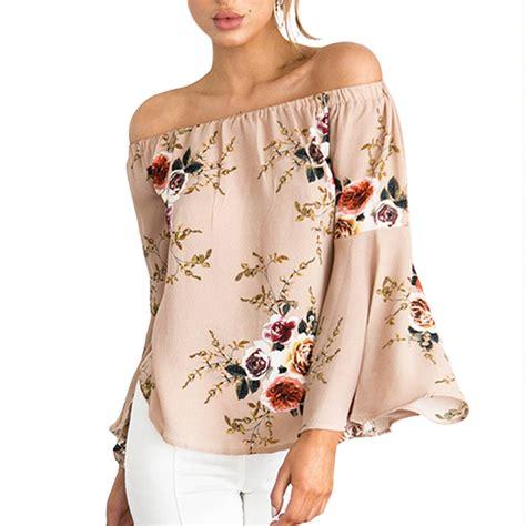 Blouse Kerah Renda Blouse Polos fashion shoulder ruffles blouse shirt top floral shirt sleeve cool blouse