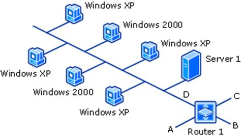 network operating system diagram topology client and operating system network discovery