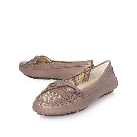loafer shoes klein yavarn loafer shoes in beige for silver