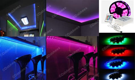 4m living room mood lighting rgb led kitchen bedroom