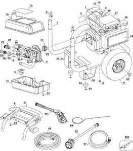 Honda Power Washer Parts Excell Pressure Washer Model Xc2600 Replacement Parts