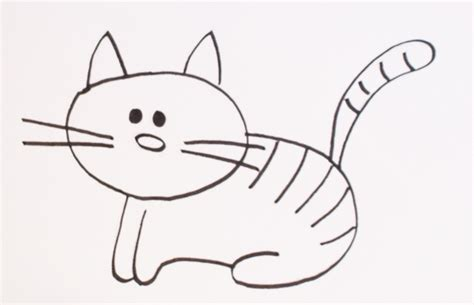 imagenes faciles para dibujar de gatos dibujos de gatos c 243 mo dibujar gatos f 225 cil para colorear